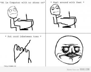 cord between toes