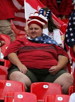 USA fat man