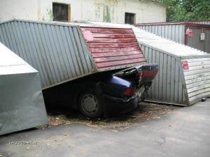 mala garaz