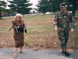 Army Granny