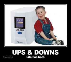 ups downs