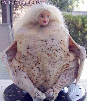 chicken barbie