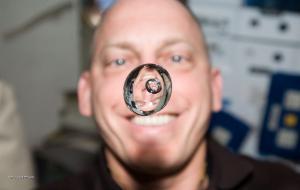 bublina v kapce