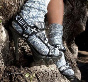 ponozky v sandalech