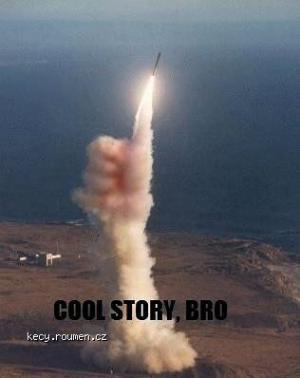 X Cool story bro