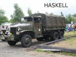 Programming languages Haskell