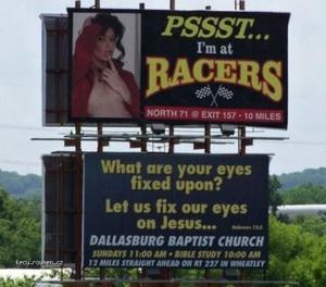 Bad locations for Jesus sign
