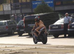 prdel na moto