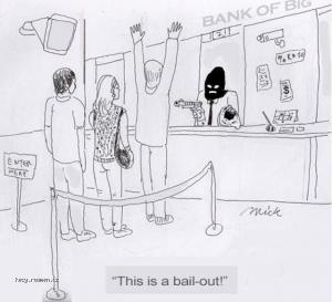 X This is a bailout