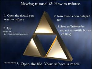 how to triforce