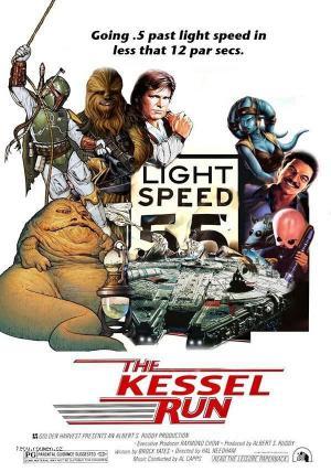 X Amusing Hybrid Star Wars Movie Poster5