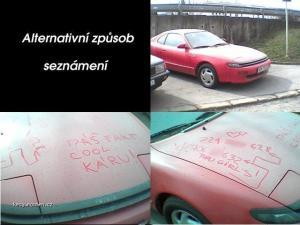 seznameni autem
