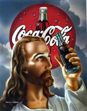 Jezis se dal na reklamu