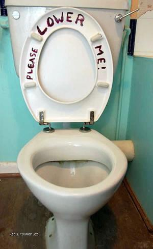 Toilet Graffiti lowerme