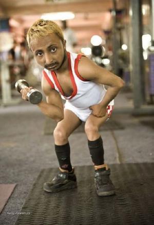 Shortest Bodybuilder in the World2