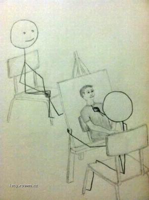 Cartoon  Kresba