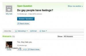 do gay people have feelings