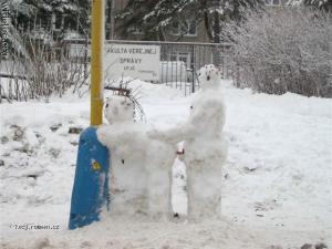 to bude snehulacku