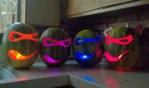 X Teenage Mutant Ninja Turtle Watermelon Lanterns