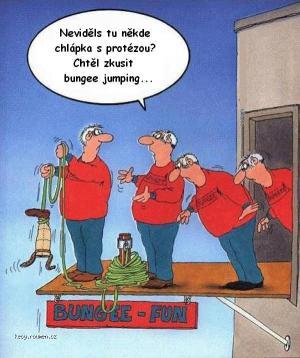 bungee s protezou
