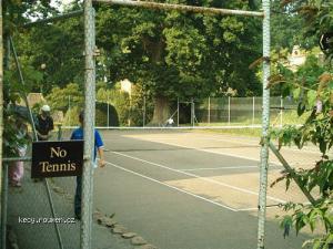 no tennis
