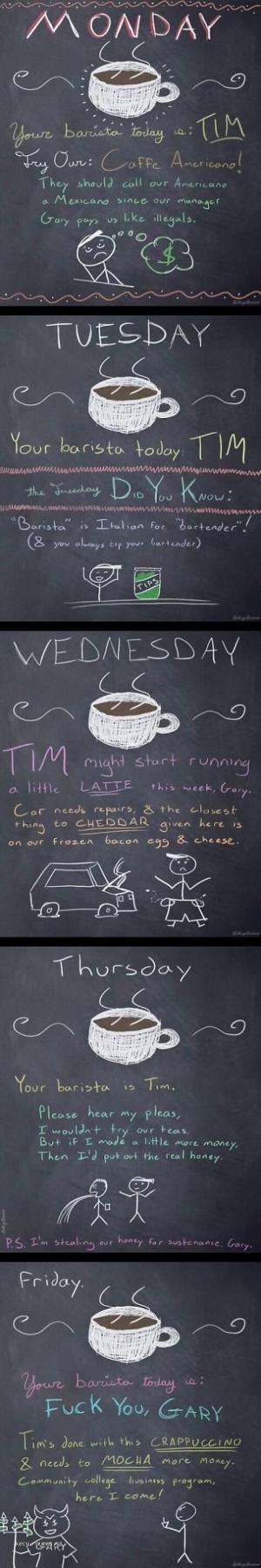 Tim Needs a Raise