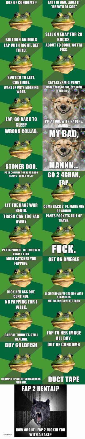 foul bachelor frog compilation