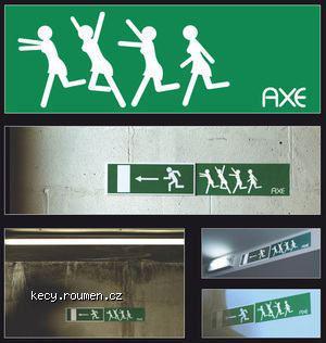 Reklama na axe