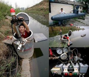 Chinese homemade submarine