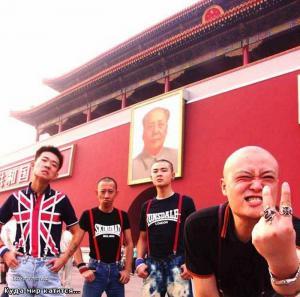 skinheads in China