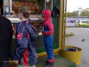hladovej spiderman