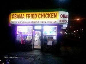 obama fried chicken