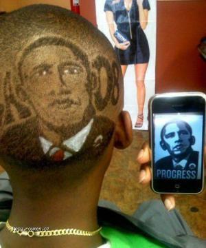 Obama na hlave