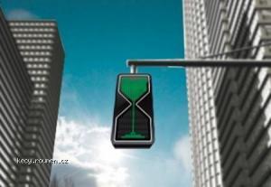 modern traffic light