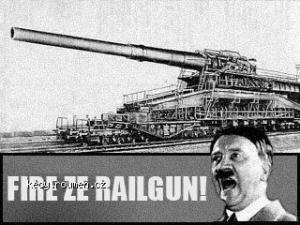 fire ze railgunn