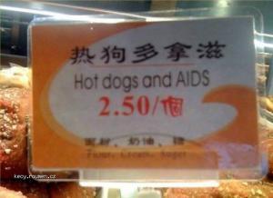 radsi normalni hot dog