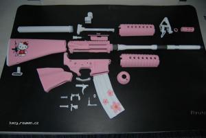 Pink samopal by Artur 01