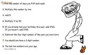 fap troll