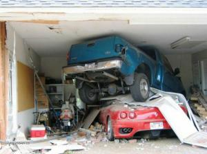 parkovani v garazi