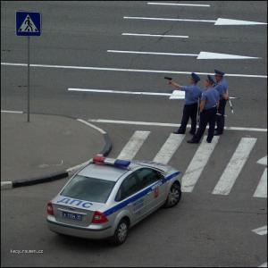 navrh na policejni bublinu