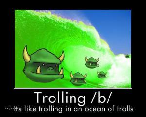 trolling b