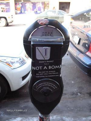 not a bomb