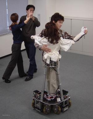 roboticka ucitelka tance