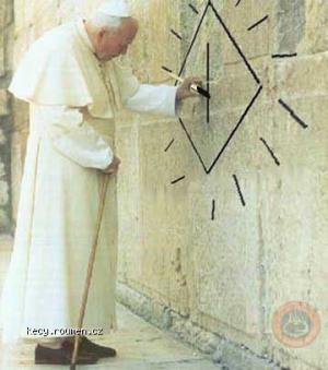 pope grafitti