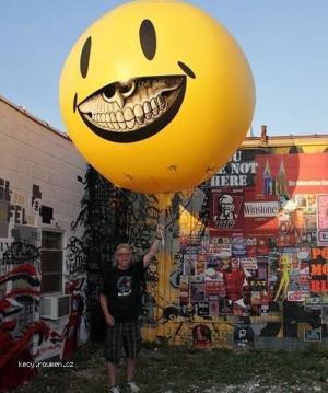 X Devil smile