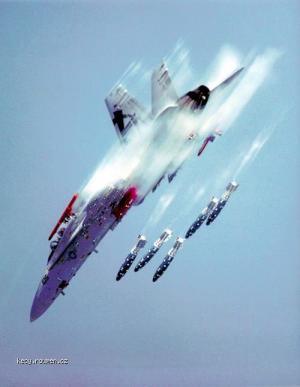 fighter jet test