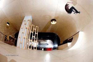 Skateboardable House With No Corners