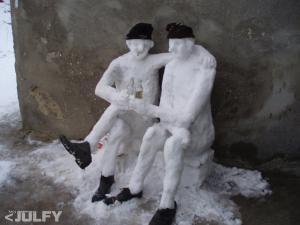 snehu dostatek