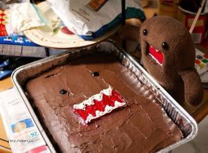 Domo cake