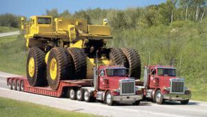 dual truck big load